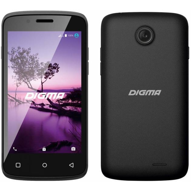 Digma LINX A420 3G 4Гб, Черный, Dual SIM, 3G