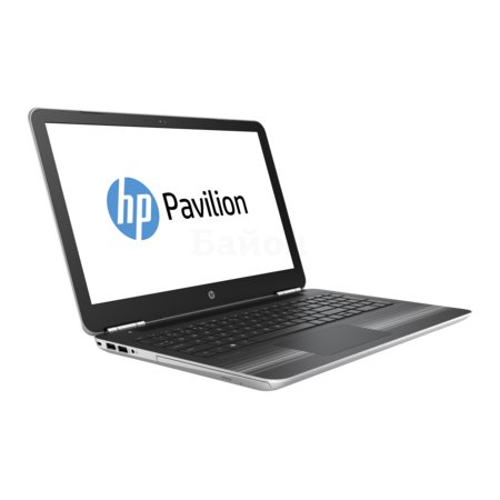 "HP Pavilion 15-au003ur 15.6"", Intel Core i3, 2.3МГц, 4Гб RAM, DVD нет, 1Тб, Серебристый, Wi-Fi, Windows 10, Bluetooth"