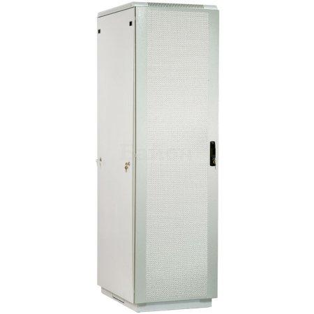 ЦМО Шкаф телекоммуникационный напольный 42U (600x600) дверь перфорированная (3 места), [ ШТК-М-42.6.6-4ААА ]