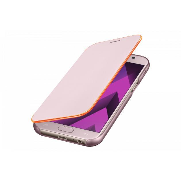 Samsung Neon Flip Cover для Samsung Galaxy A7 2017 Розовый от Байон
