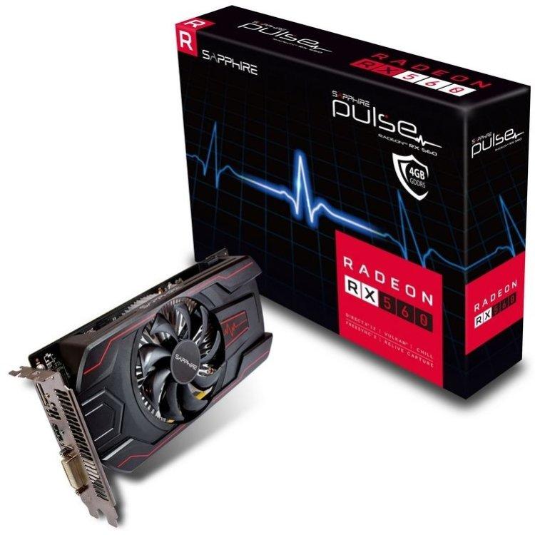 Sapphire Pulse Radeon RX 560 11267-00-20G