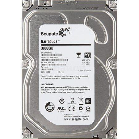 """Seagate ST3000DM001 3000Гб, 600 Мб/с, 3.5"""" HDD"""
