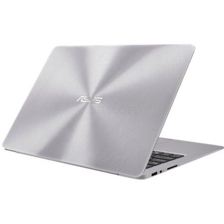 "Asus Zenbook UX330UA-FB012T 13.3"", Intel Core i5, 2300МГц, 8Гб RAM, DVD нет, 256Гб, Серебристый, Wi-Fi, Windows 10 Домашняя, Bluetooth"