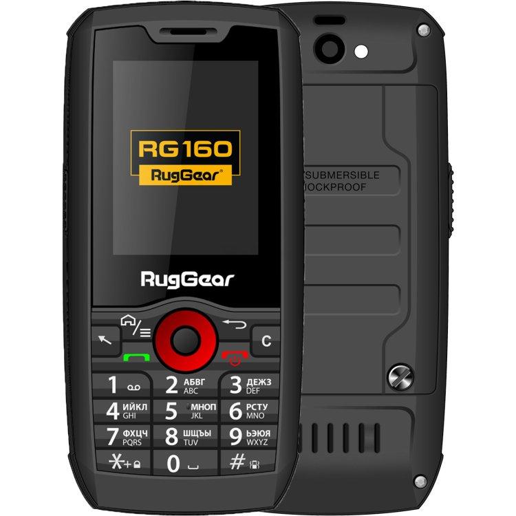 RugGear RG 160 Черный, 0.256Гб, 2 SIM, 3G