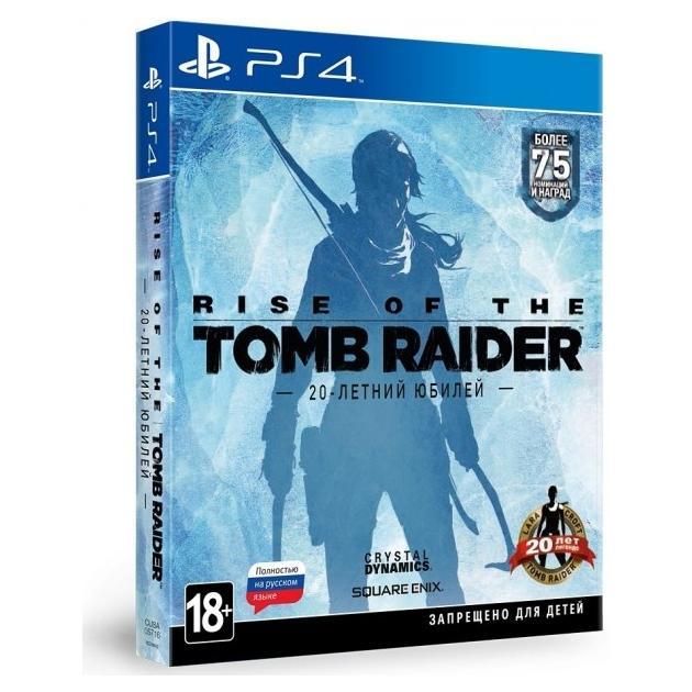 Rise of the Tomb Raider. 20-летний юбилей Русский язык, Специальное издание, Sony PlayStation 4, приключения