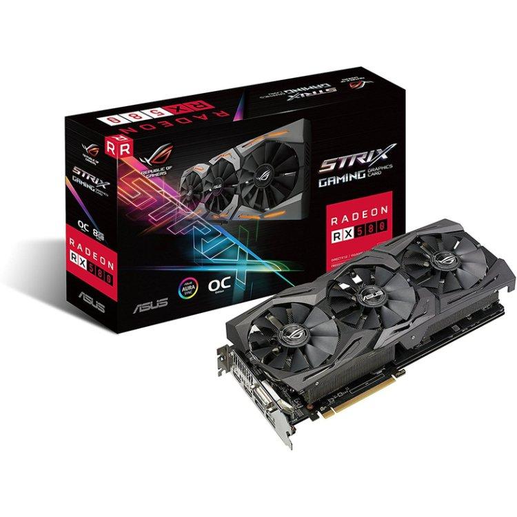 Asus AMD Radeon Rog Strix RX 580 O8G Gaming