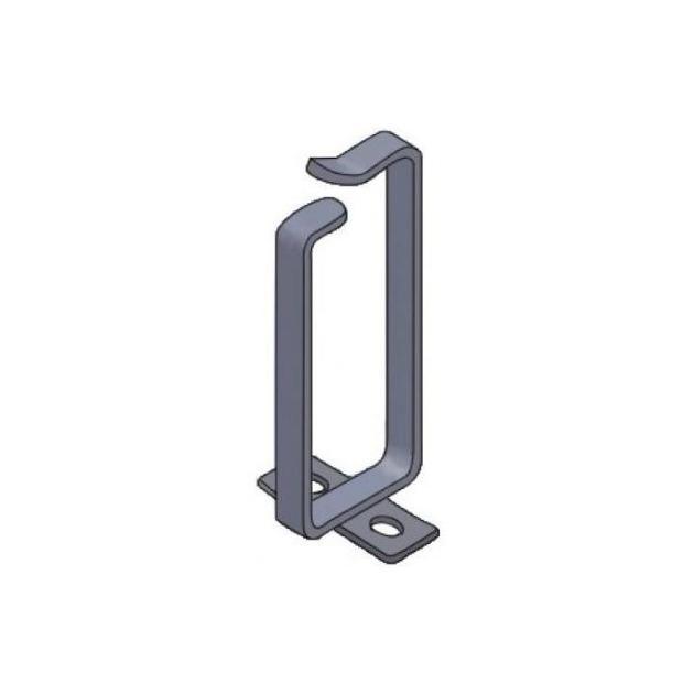 Кольцо для кабель-органайзера 70х160мм (5шт.), черный