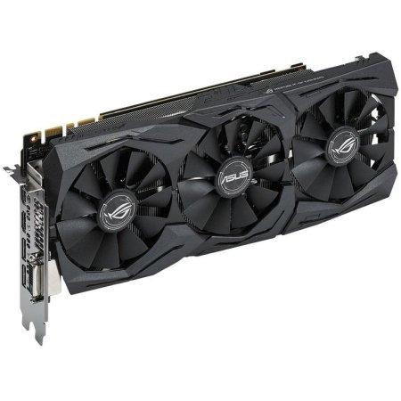 Asus NVIDIA GeForce GTX 1070 STRIX OC GAMING 8192Мб, GDDR5,1657MHz, STRIX-GTX1070-O8G-GAMING