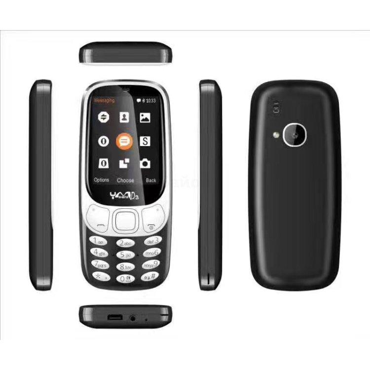 Nokia 3310 2017 black, 16Гб, 1 SIM