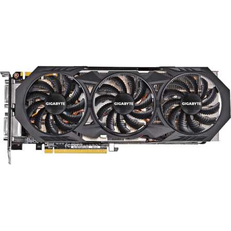 Gigabyte GeForce GTX 970 GV-N970WF3-4GD PCI-E 16x 3.0, 4096Мб, GDDR5