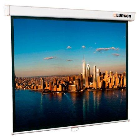 Экран Lumien 180x180см Master Picture LMP-100103 1:1 настенно-потолочный рулонный