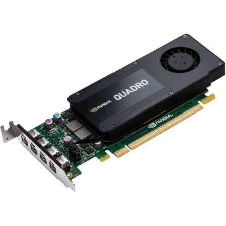 HP NVIDIA Quadro K1200 PCI-E 16x 2.0, 4096Мб, GDDR5-SDRAM