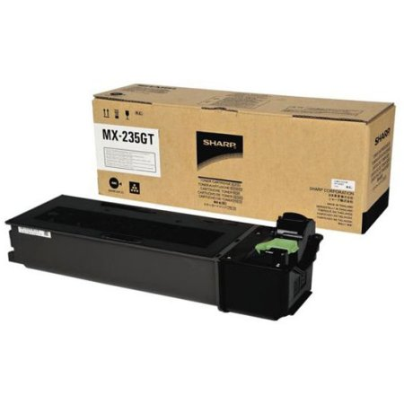 Sharp MX235GT с IC-чипом Черный, Картридж лазерный, Стандартная, нет Черный, Картридж лазерный, Стандартная, нет