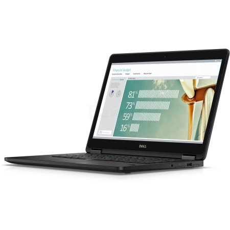 "Dell Latitude E7270-9730 12.5"", Intel Core i7, 2600МГц, 8Гб RAM, DVD нет, 512Гб, Черный, Wi-Fi, Windows 10 Pro, Windows 7"