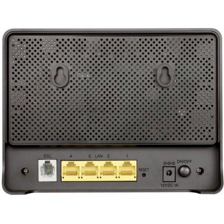 D-Link DSL-2750U/RA/U2A Черный, 300Мбит/с, 2.4