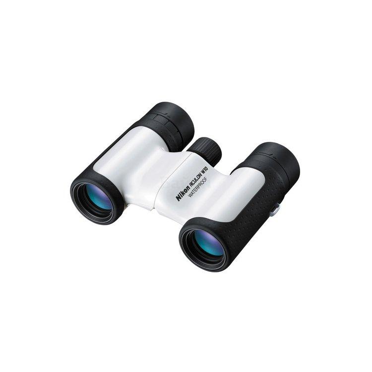 Nikon Aculon W10 10x21 Компактный, Белый, 10x, Бинокль