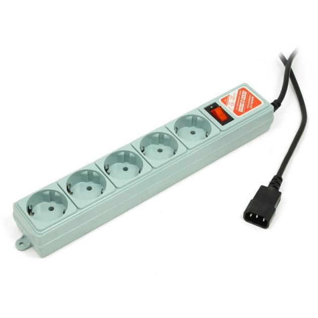 Power Cube SPG-B серый, для подключ. к UPS (С14)