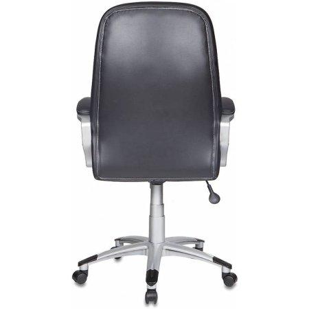 Кресло руководителя Бюрократ T-9910/BLACK черный искусственная кожа пластик серебро