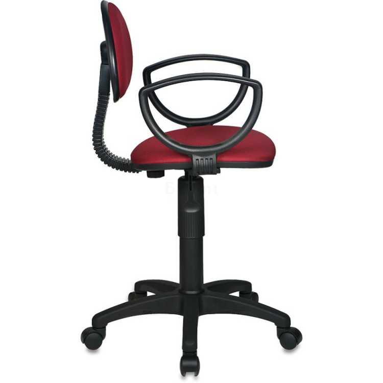Кресло Бюрократ CH-213AXN Красный