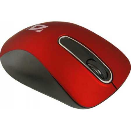 Defender Datum MM-075 Красный, Радиоканал, USB