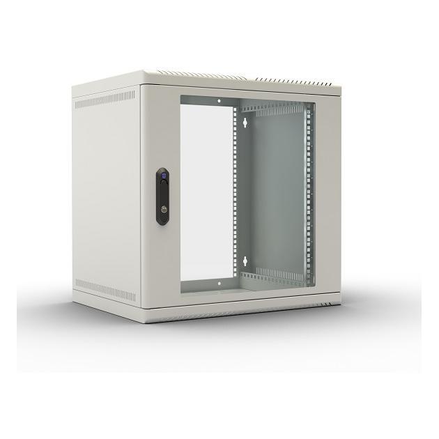 ЦМО Шкаф телекоммуникационный настенный 6U, 600x480мм, В=365мм, .дверь стекло, [ ШРН-6.480 ]