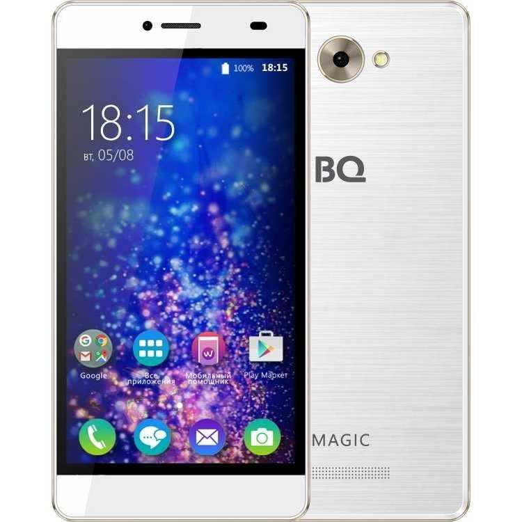 BQ BQS-5070 Magic Белый