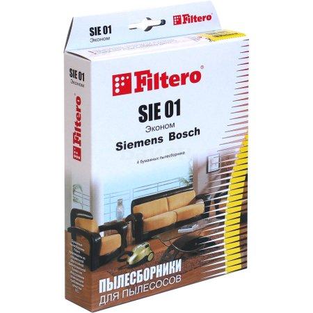 Пылесборники Filtero SIE 01 Эконом (4пылесбор.)