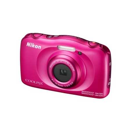 Nikon CoolPix W100 Розовый, 13.2