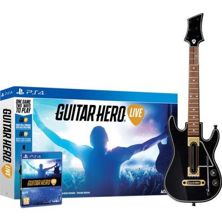 Guitar Hero Live Bundle Гитара + игра,PS4
