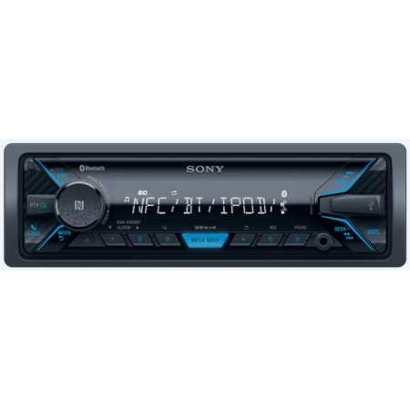Sony DSX-A400BT 1 DIN, синяя подсветка