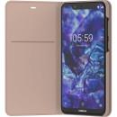 Чехол-подставка Nokia 5.1 plus Flip Cover Кремовый