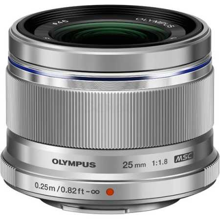 Olympus M.Zuiko Digital 25mm f/1.8 Широкоугольный, Micro 4/3