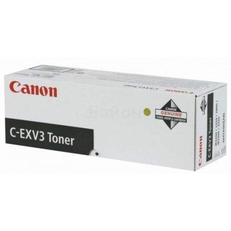 Canon C-EXV3 Черный, Тонер-картридж, Стандартная, нет