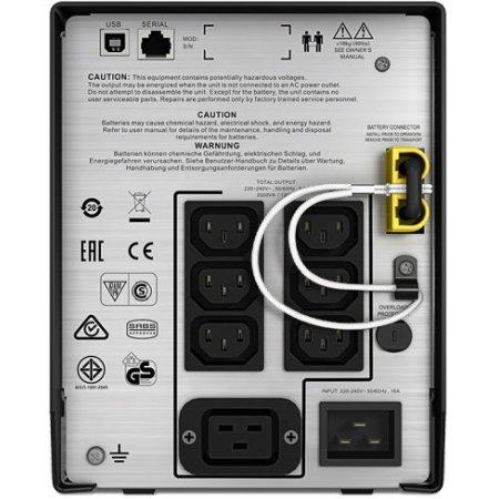 APC Smart-UPS C SMC2000I-W3Y 2000ВА