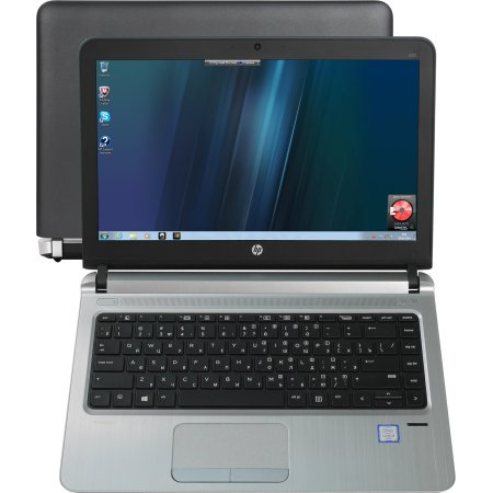 "HP ProBook 430 G3 T6N95EA 13.3"", 2.3МГц, 4Гб RAM, 1Тб, Wi-Fi, Черный, Windows 10 Pro, Windows 7, Bluetooth, Intel Core i3"
