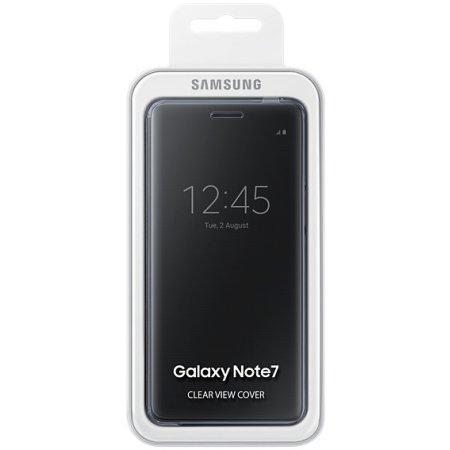 Samsung Clear View Cover для Samsung Galaxy Note 7 EF-ZN930CBEGRU Черный чехол-книжка, поликарбонат, Черный