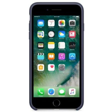 Apple MMQU2ZM/A накладка, силикон, Темно-синий