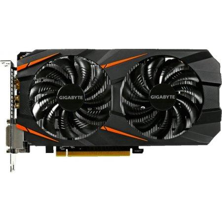 Gigabyte GeForce GTX 1060 WINDFORCE OC 6G 6144Мб, GDDR5, 1582MHz, GV-N1060WF2OC-6GD