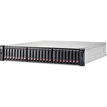 HP MSA 1040 2400Гб, Черный 2400Гб, 4 диска