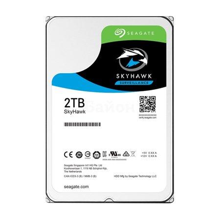 "Seagate Skyhawk 2000Гб, 3.5"" HDD"