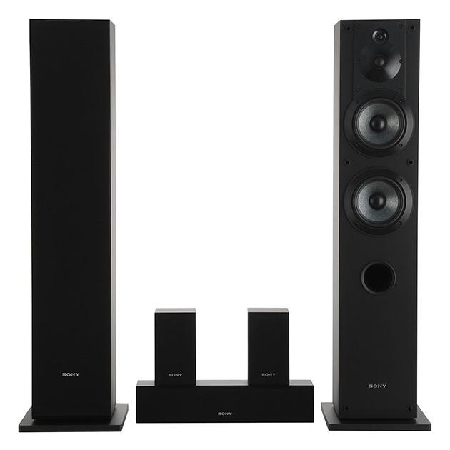 Sony SS-CS310CR Черный, 5.0, Дерево Черный, 5.0, нет, Дерево SSCS310CR.CE7