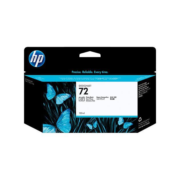 HP Inc. Cartridge HP 72 черный для фотопечати 130 мл для DJ T610/T770/T1100/T1120/ T1200