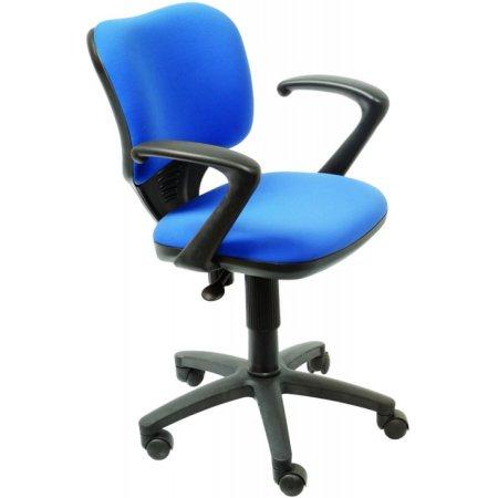 Кресло Бюрократ CH-540AXSN-LOW/26-21 низкая спинка синий 26-21