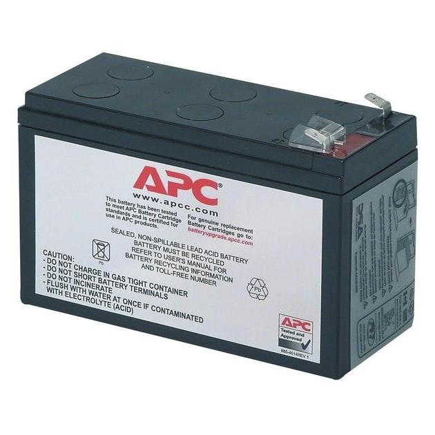 APC by Schneider Electric Battery replacement kit for BE525-RS,  BE550-RS, BH500INET, BK325-RS, BK350EI, BK350-RS, BK475-RS, BK500EI, BK500-RS, BP280SI, BP420SI, SC420I, SU420INET, BK250EI, BP280i, BK400EI