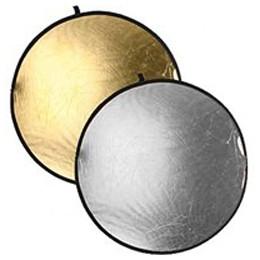 Отражатель круглый золотой - серебристый 56см CFR-22GS