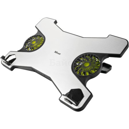 """Trust Notebook Cooling Stand Xstream Серебристый, 1, 17.3"""" Серебристый, 1, 17.3"""""""