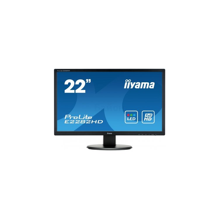 "Iiyama ProLite E2282HD-B1 21.5"", TFT TN, 1920x1080, Full HD, DVI"