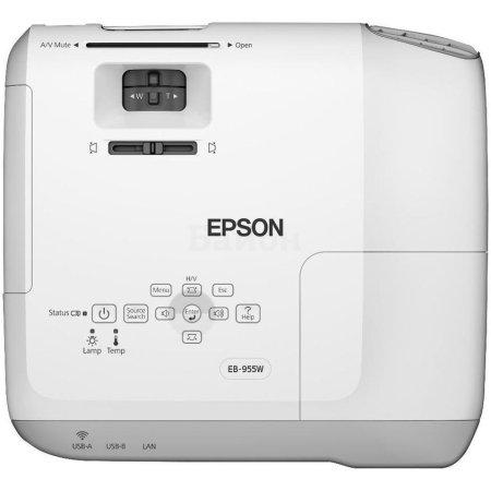 Epson EB-955WH портативный, Белый