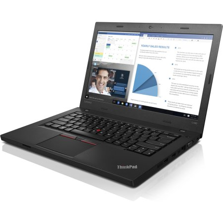 "Lenovo ThinkPad L460 20FUS06H00 14"", Intel Core i3, 2300МГц, 4Гб RAM, DVD нет, 500Гб, Черный, Wi-Fi, DOS, Bluetooth, WiMAX"