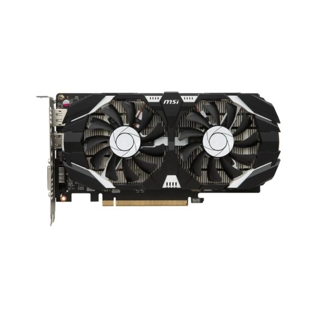 MSI GeForce GTX 1050 OC PCI-E 3.0, 2048Мб, GDDR5 GTX 1050 2GT OC